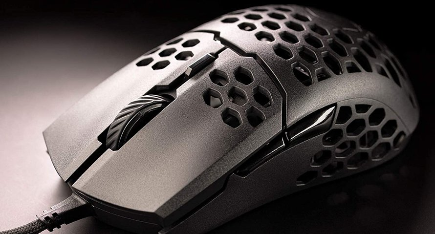 honeycomb design mouse example cooler master