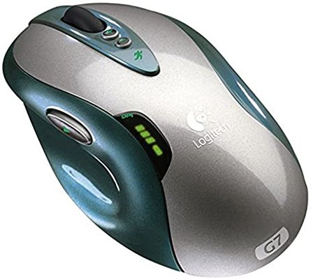 logitech g7 one of the earlier laser gaming mice