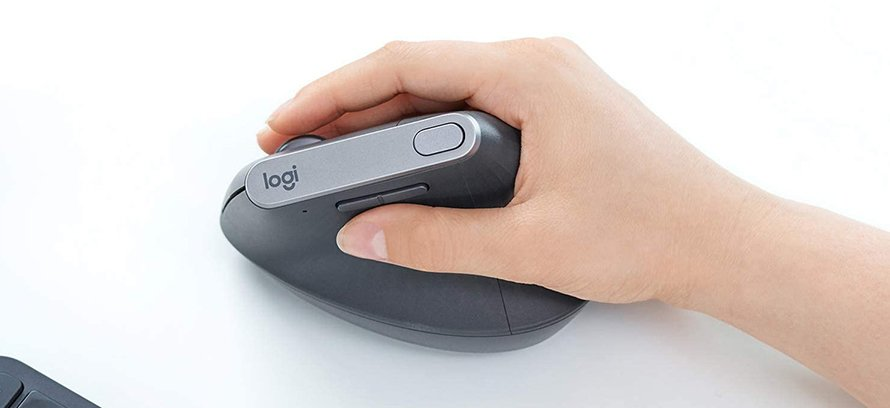 logitech mx vertical mouse example